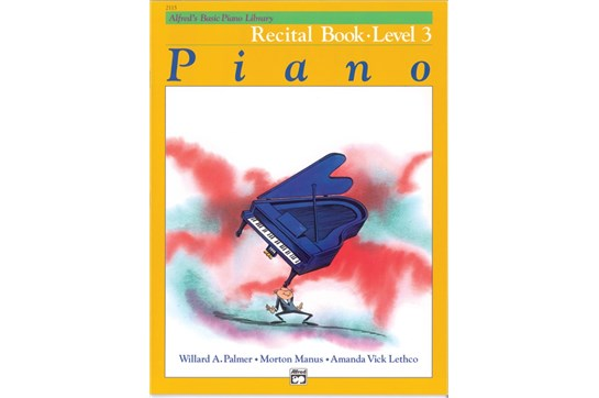 Alfred/'s Basic Piano Library Recital Book 6 2499
