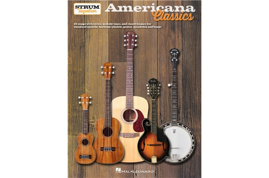 Americana Classics Strum Together book