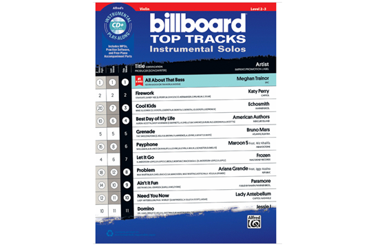 Billboard Top Tracks (Violin)