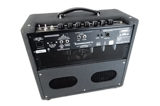 fender bassbreaker 15 combo amp fender heid music. Black Bedroom Furniture Sets. Home Design Ideas