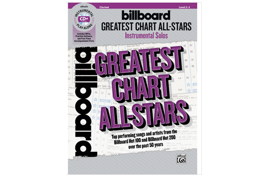 Billboard Greatest Chart All Stars (Clarinet)