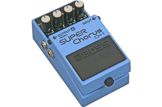 Boss CH-1 SUPER Chorus Guitar Effects Pedal