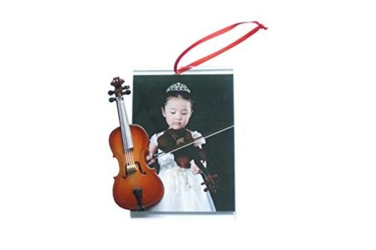 Ornament, picture frame, cello