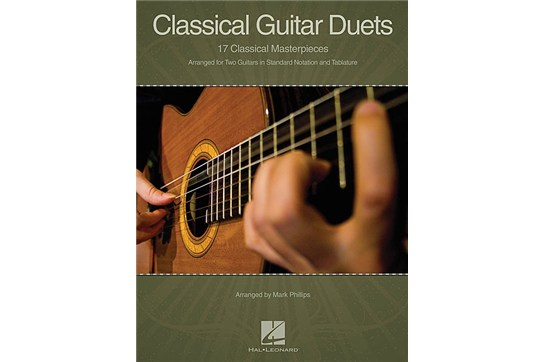 17 Classical Guitar Duets music book