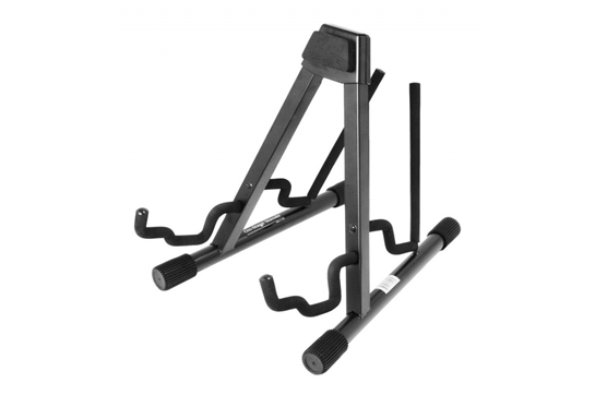 On Stage Professional A-Frame Double Guitar stand