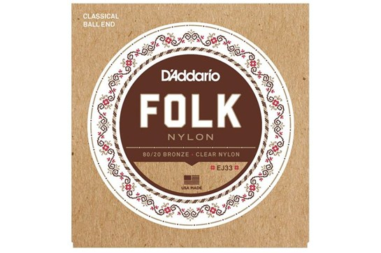 D'Addario EJ33 Folk Strings