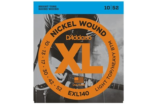 D'Addario EXL140 Guitar Strings front