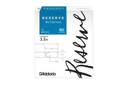 Reserve Clarinet Reeds 3.5