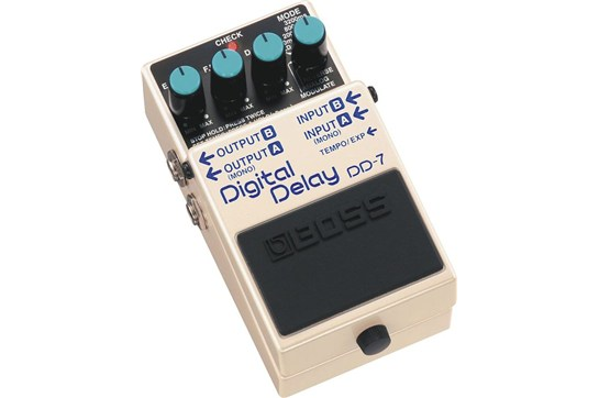 boss dd 7 digital delay guitar effects pedal heid music. Black Bedroom Furniture Sets. Home Design Ideas