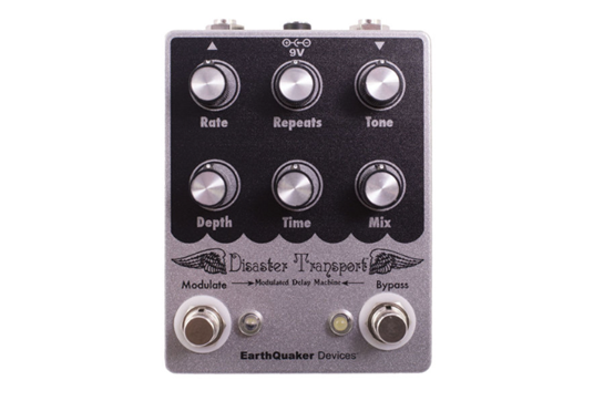 Earthquaker Devices Disaster Transport Guitar Effects Pedal