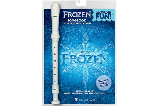 Frozen Coloring Pages Easy : Disney s frozen recorder fun recorder book bundle heid music
