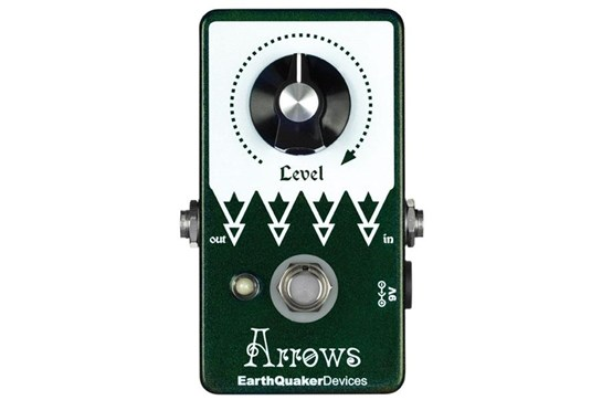 Earthquaker Arrows Boost Effects Pedal