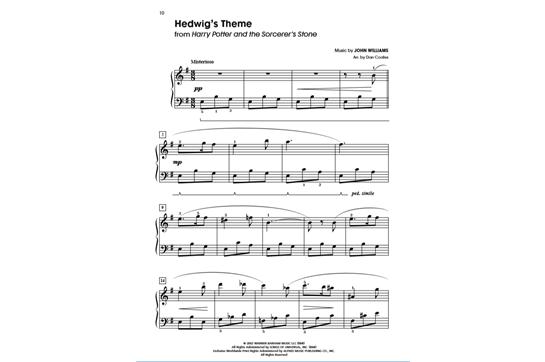 Harry Potter Complete Film Series - Easy Piano | Heid Music
