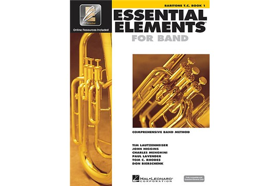 Essential Elements Baritone Lesson Book 1 (Treble Clef)