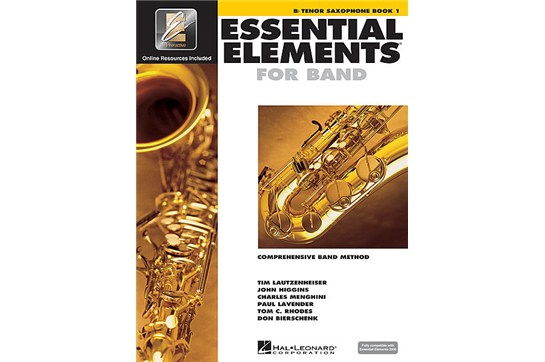 Essential Elements Tenor Sax Lesson Book 1