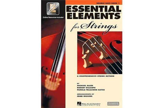 Essential Elements for Strings Bass Book 1