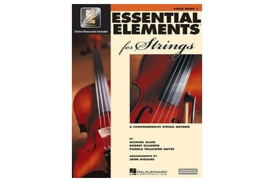 Essential Elements for strings - viola book 1