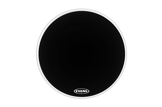 "Evans 20"" MX1 Black Marching Bass Head"