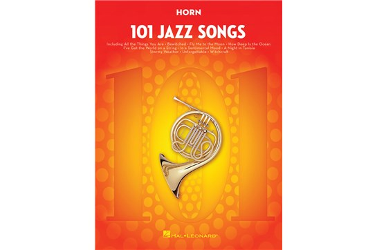 101 Jazz Songs Horn