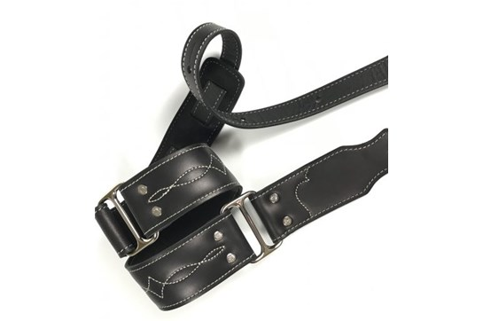 "Franklin 2"" Leather Strap"