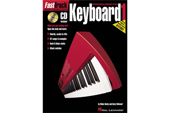Hal Leonard FastTrack Piano Keyboard Method