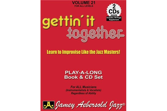 Jamey Volume 21 Gettin/' it Together Aebersold