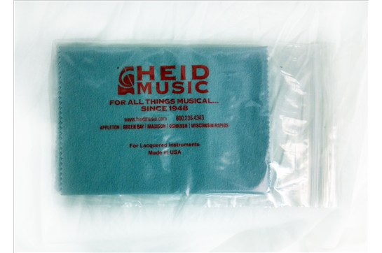 Heid Music Lacquered Instrument Polish Cloth for sax, trumpet, most woodwind and brass instruments