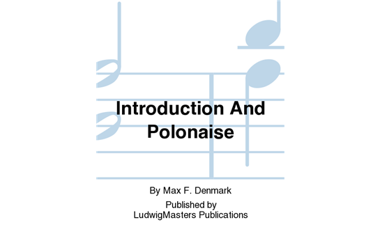 Introduction And Polonaise for Trumpet