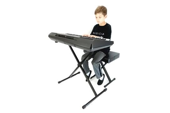 Yamaha PSRE463 Keyboard Bundle (61 Keys) | Heid Music