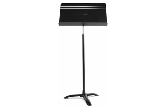 "Black Manhasset Music Stand ranging in height from 26"" to 48"""
