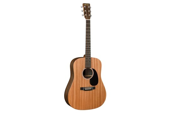 Martin DX2AE Macassar Acoustic-Electric Guitar front