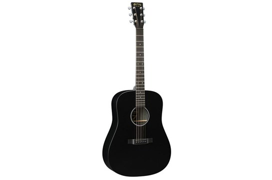 Martin DXAE Black Acoustic-Electric Guitar front
