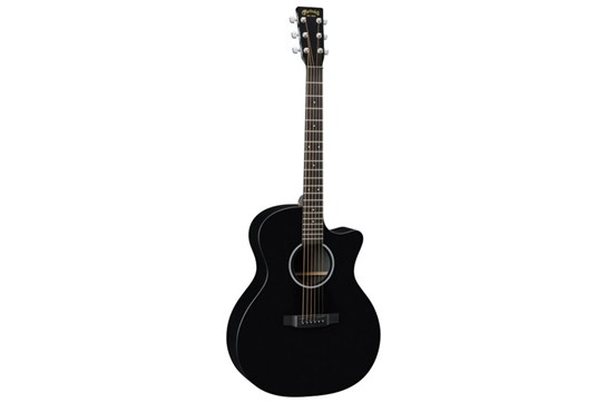 Martin GPCXAE Black Acoustic-Electric Guitar front