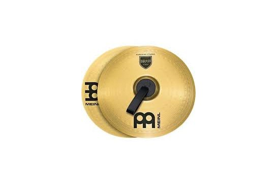 Meinl Brass Marching Medium Cymbals