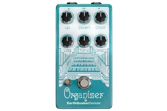 Earthquaker Devices Organizer Polyphonic Organ Emulator Pedal V2