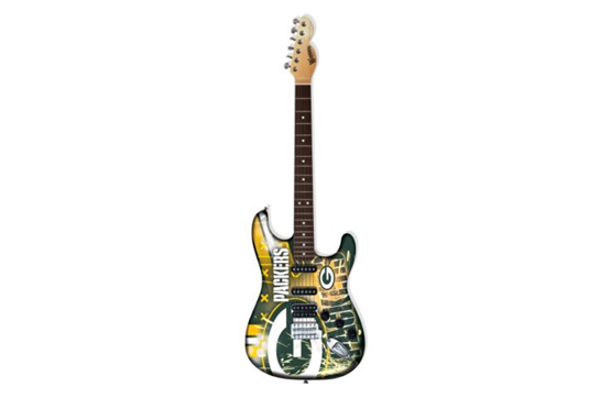 Green Bay Packers Electric Guitar