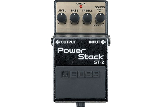 boss st 2 power stack distortion guitar effects pedal heid music. Black Bedroom Furniture Sets. Home Design Ideas