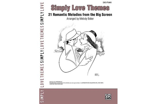Simply Love Themes for Easy Piano arranged by Melody Bober