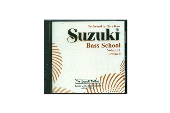 Suzuki Bass School Volume 1 CD