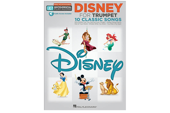 Disney Easy Instrument Play Along Trumpet
