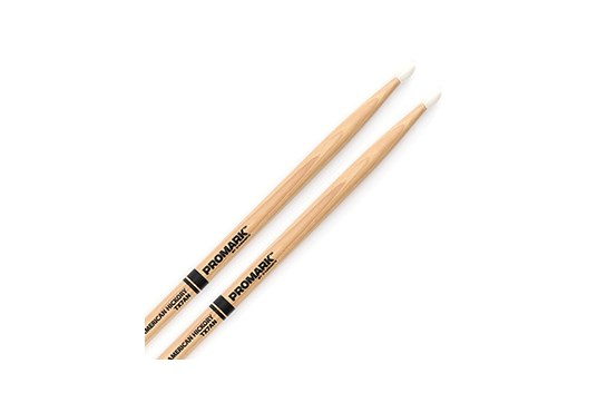 Promark TX7AN Hickory 7A Drum Sticks Nylon Tip