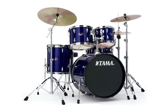 Tama Imperialstar 5-piece Drum Set midnight blue