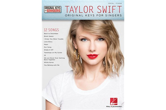 Taylor Swift Voice Voical Piano Book