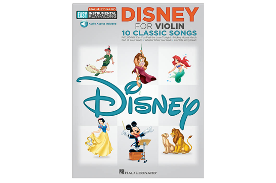 Disney Easy Instrument Play Along Violin