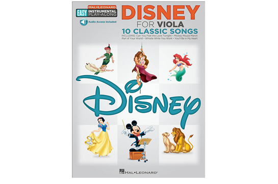 Disney Easy Instrument Play Along Viola