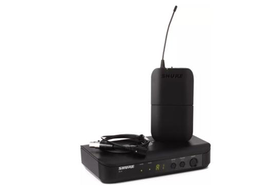 shure blx14 cvl wireless lavalier system shure heid music. Black Bedroom Furniture Sets. Home Design Ideas