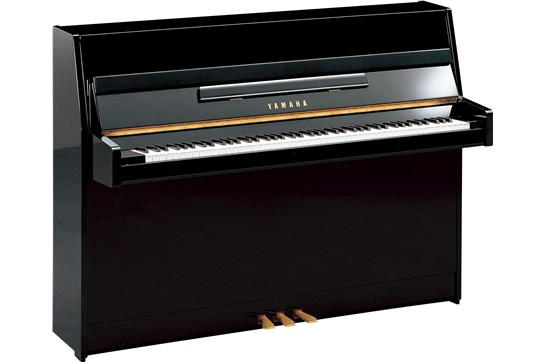 Yamaha B1 Upright Acoustic Piano (polished ebony)