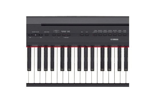 yamaha p 115 digital piano black heid music. Black Bedroom Furniture Sets. Home Design Ideas