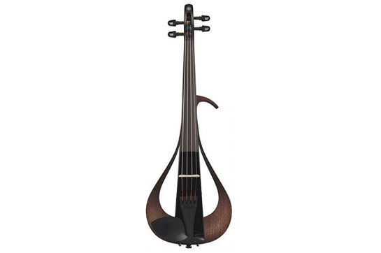 Yamaha YEV104BL Electric Violin 4 String front