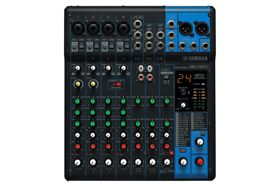 yamaha mg10xu 10 channel mixer with effects yamaha heid music. Black Bedroom Furniture Sets. Home Design Ideas